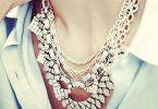 Stella & Dot Sutton necklace in silver