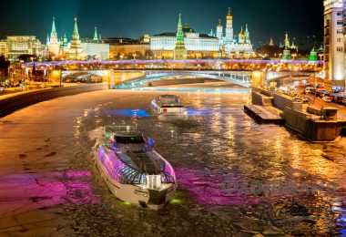 radisson royal river cruise night moscow russia