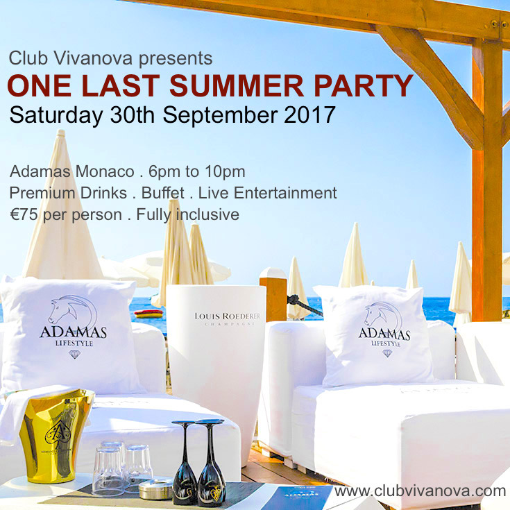 One Last Summer Party 2017