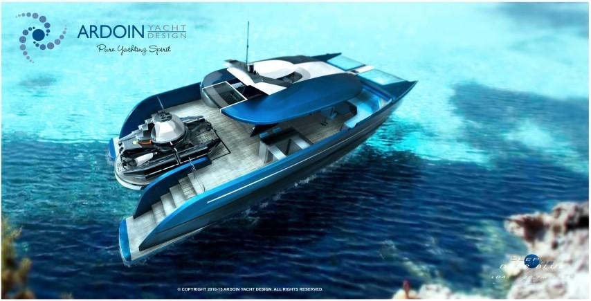 deep blue mooring yacht cdesign