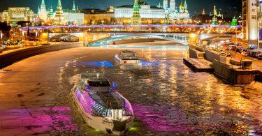 radisson royal river cruise night moscow russia